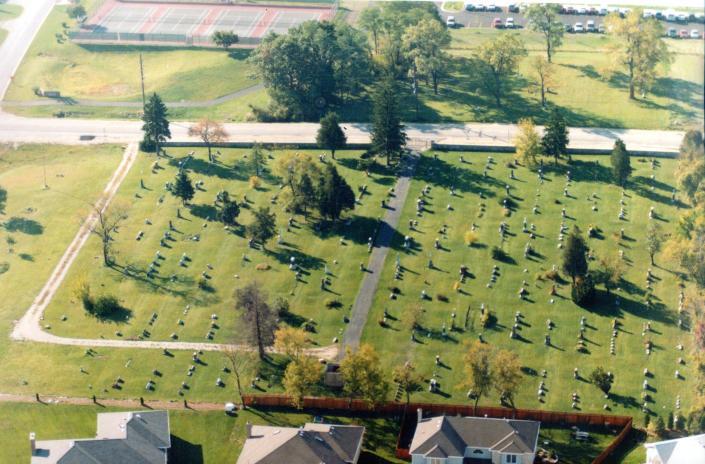 St. Matthew Lutheran Cemetery, 127th Street, Lemont, IL 60439