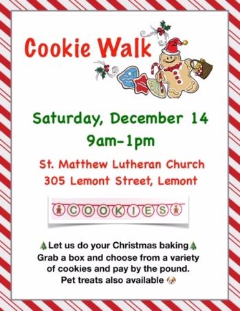 Cookie Walk Flyer 2019