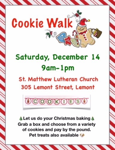 Cookie Walk Flyer 2019
